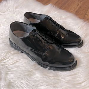 Men's Avonite High Gloss Uniform Work Shoes Sz 10